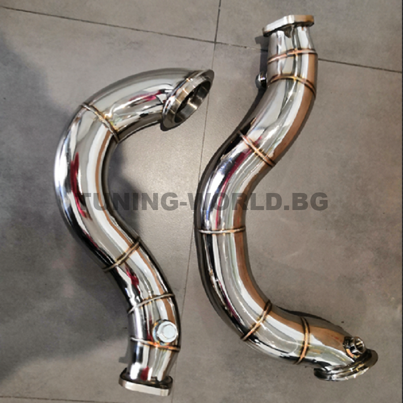 Downpipe kit BMW  135i 335i Z4 N54 E82 E87 E81 E90 E91 E92 Bi-Turbo