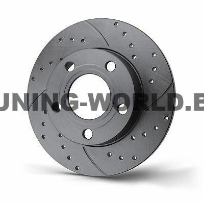 ROTINGER- Задна ОС плътен спирачен диск-дупчен,нарязан