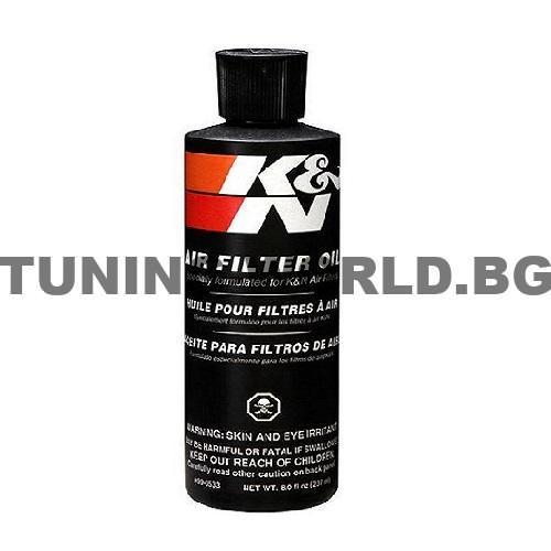 Омасляващ препарат за спортни филтри K&N.