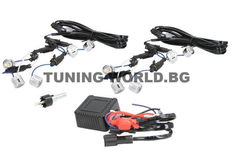 M-tech LED дневни/паркинг светлини M-T ST-10