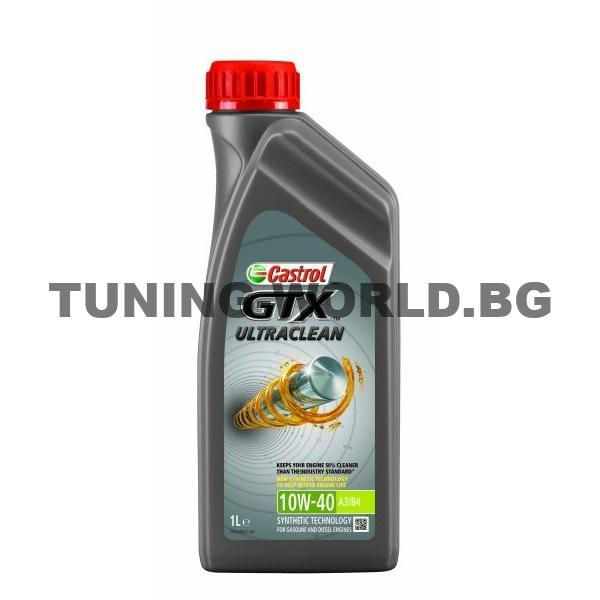 CASTROL GTX ULTRACLEAN 10W40 1L