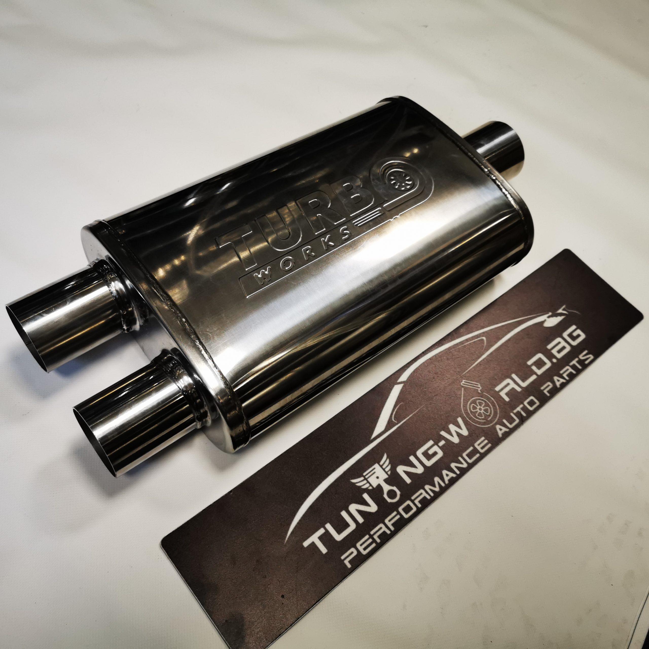 510x230x110 ф63-2x57mm Turboworks Гърне неръждаема стомана