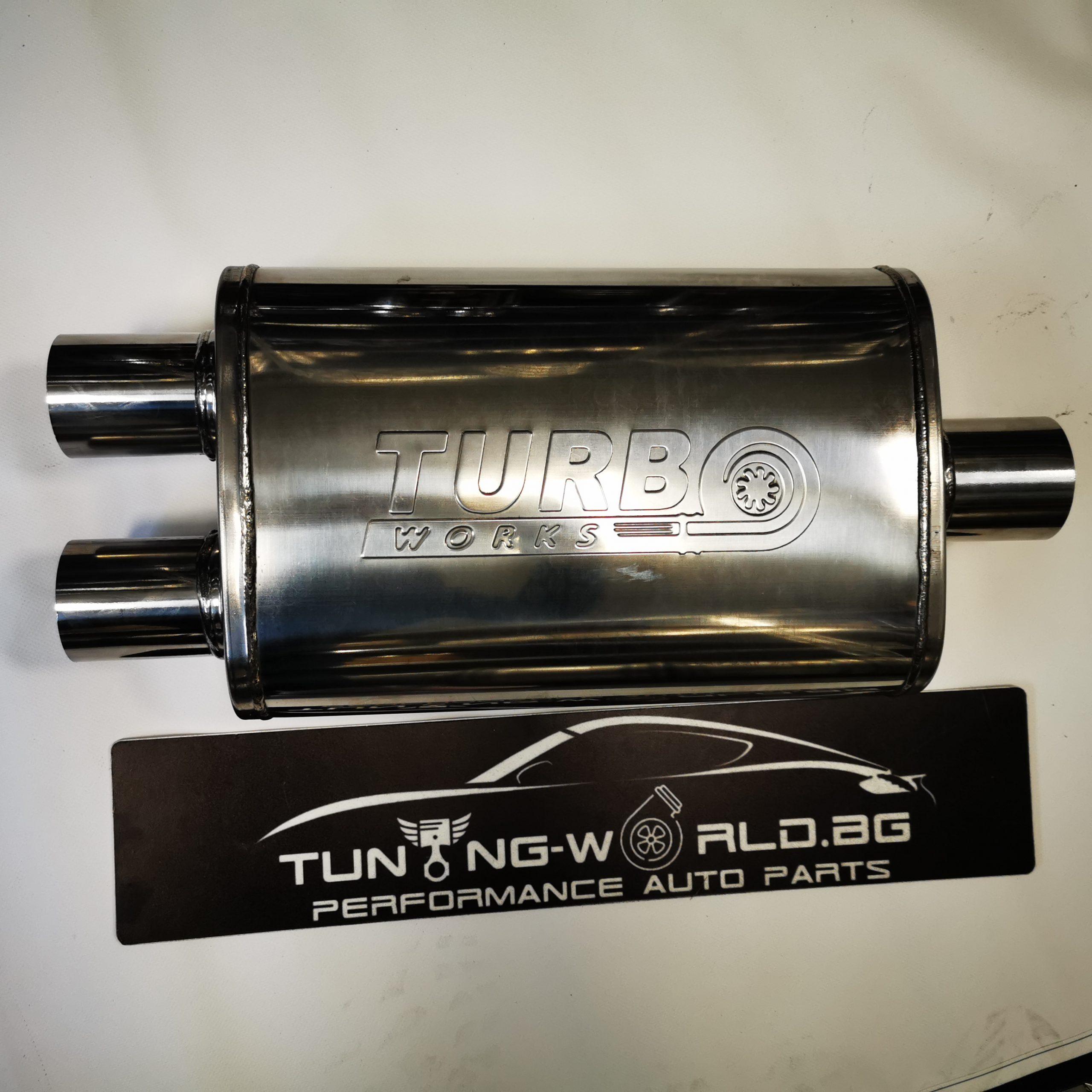 510x230x110 ф76-2x63mm Turboworks Гърне неръждаема стомана