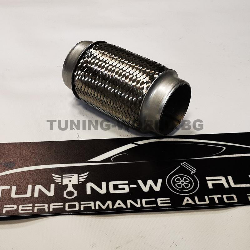 ф63мм 155mm  Мека връзка от неръждаема стомана