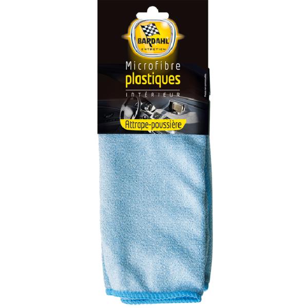 Bardahl-Микрофибърна кърпа за пластмаса