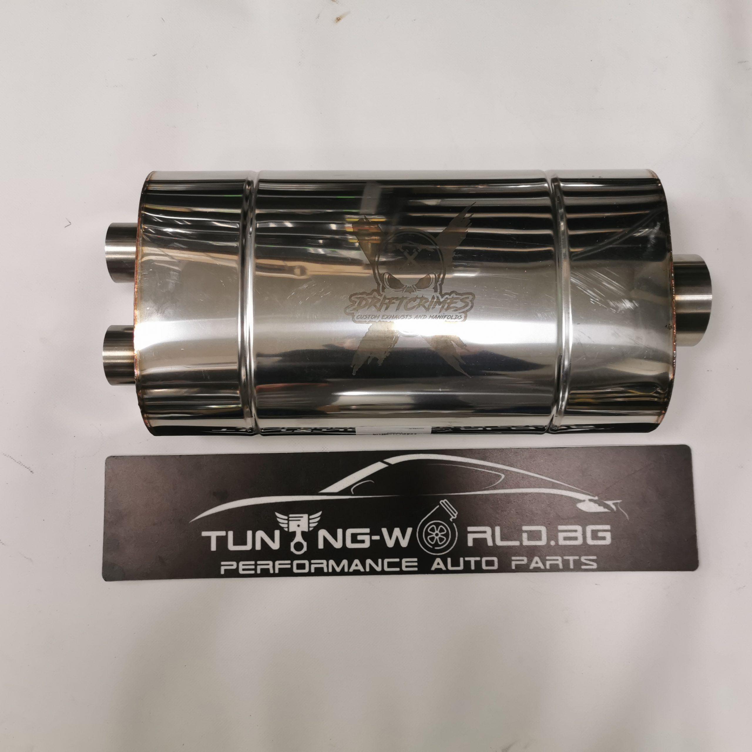 76mm-2x50mm DCFabrications Гърне неръждаема стомана 304ss