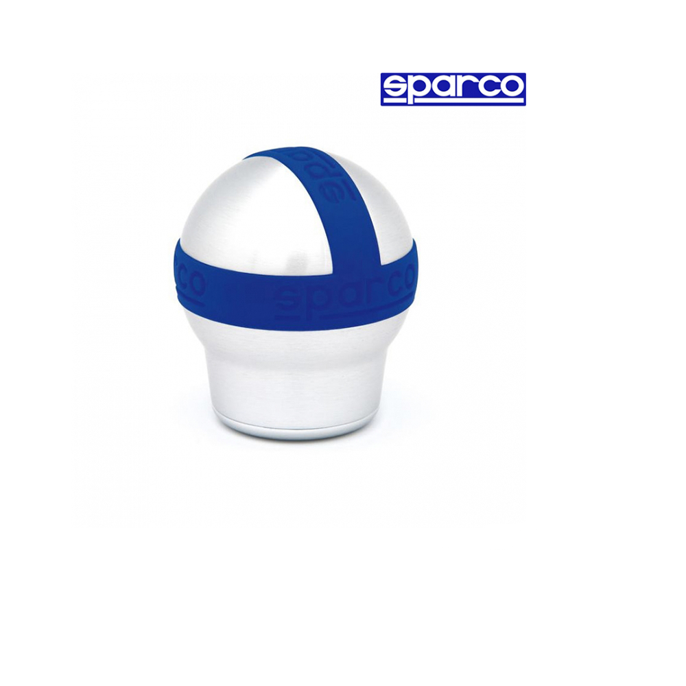Топка за скоростен лост Sparco - Алуминий/синя