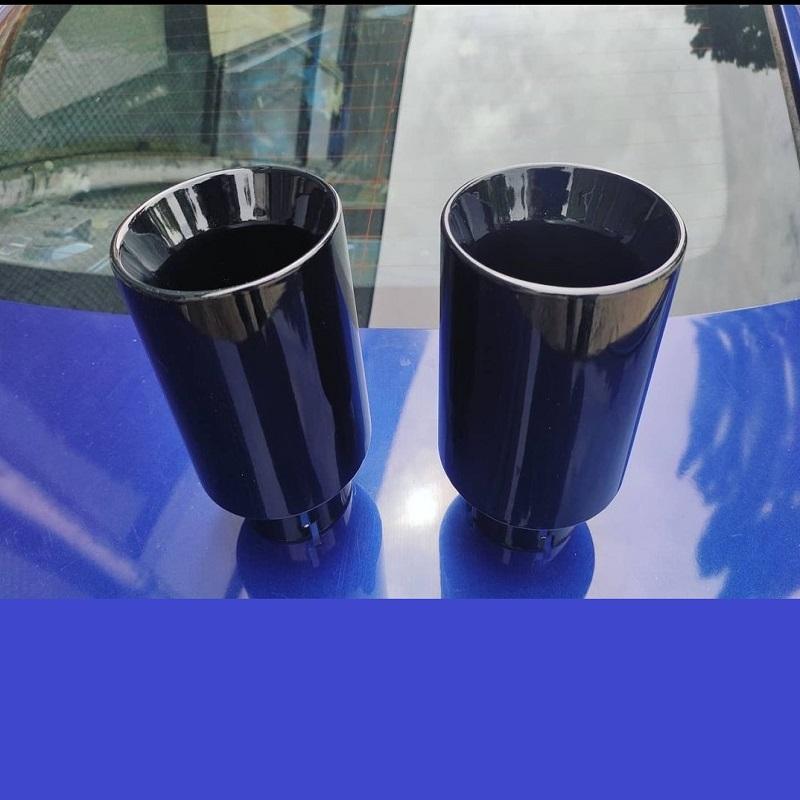 Glossy Black Спортни накрайници 304SS ауспух генерация гърне BMW M 335i и др
