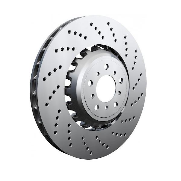 Zimmermann - Спирачен диск - надупчен
